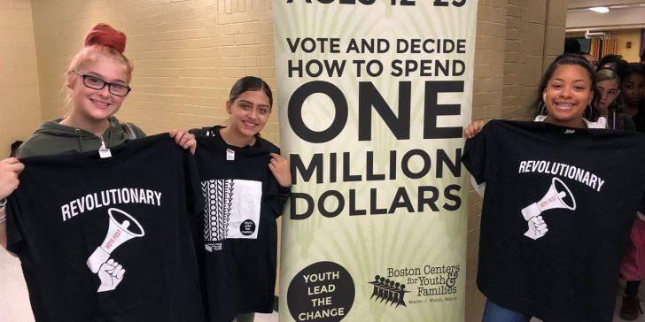 Eine Million Dollar wollen sinnvoll investiert werden. Bostons Jugend weiß, wofür.