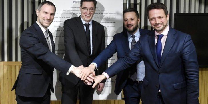 «Pakt der freien Städte»: Die Stadtpräsidenten von Budapest, Prag, Warschau und Bratislava