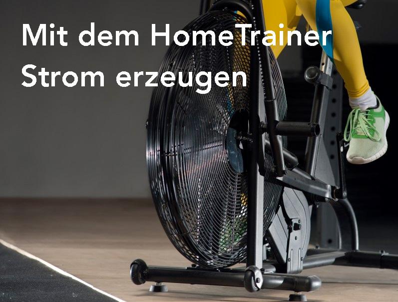 Strom vom Hometrainer