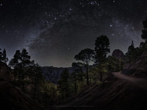 Nightscape panorama