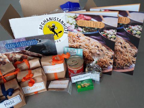 Zutaten für Kabouli Palau, Naan und Chai mit Rezepten