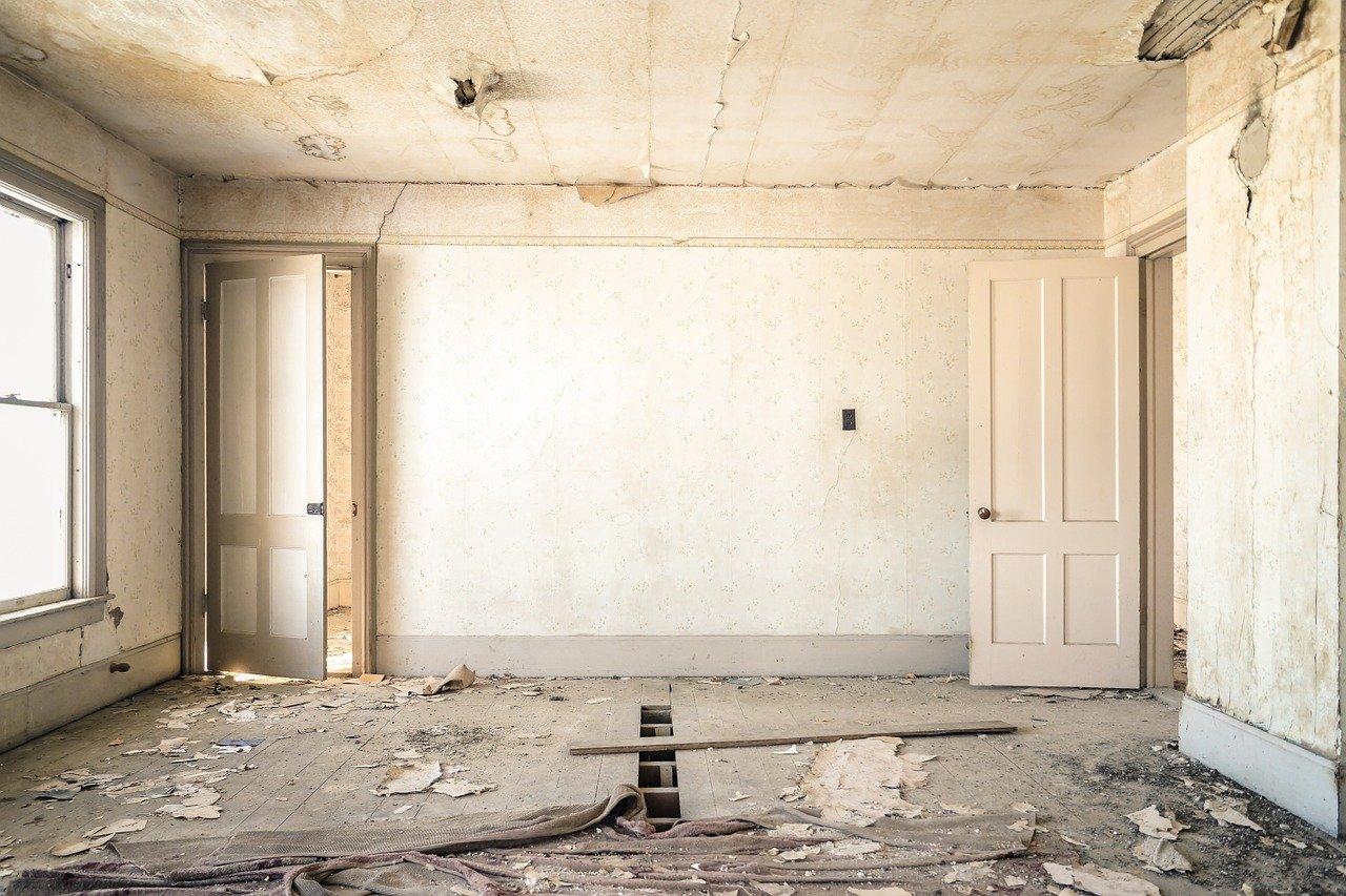 Zimmer in Renovation