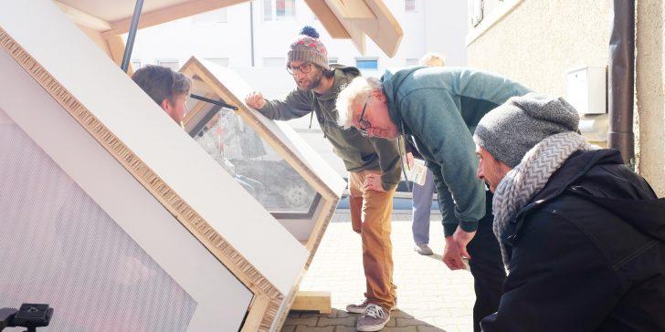 Ulmer Nest: Schlafkapseln für Obdachlose