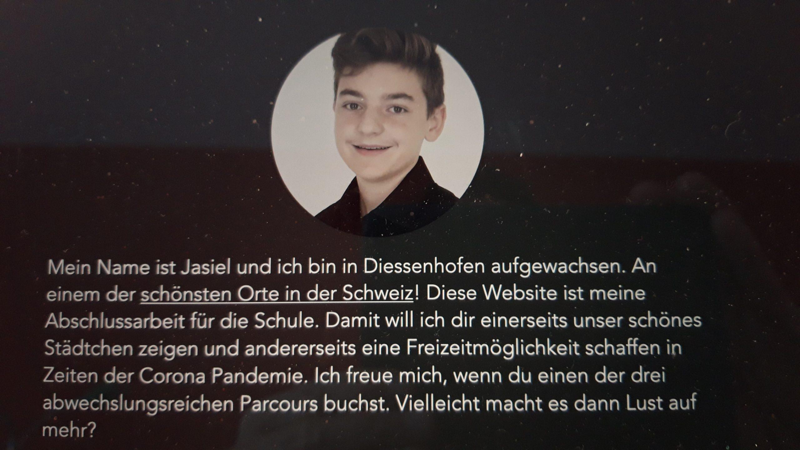 Foto von Jasiel Jäggi auf seiner Webseite fotoparcours