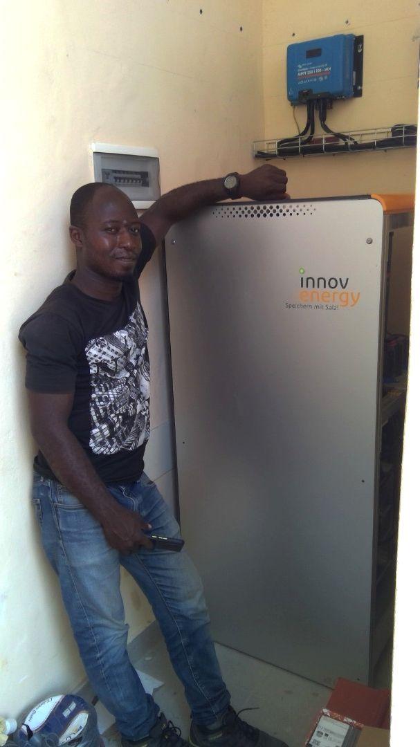 Salzbatterie für Afrika