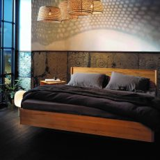 Doppelbett aus Biomassivholz bei Sleepgreen