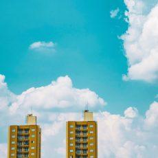 Klima - Himmel mit Wolken