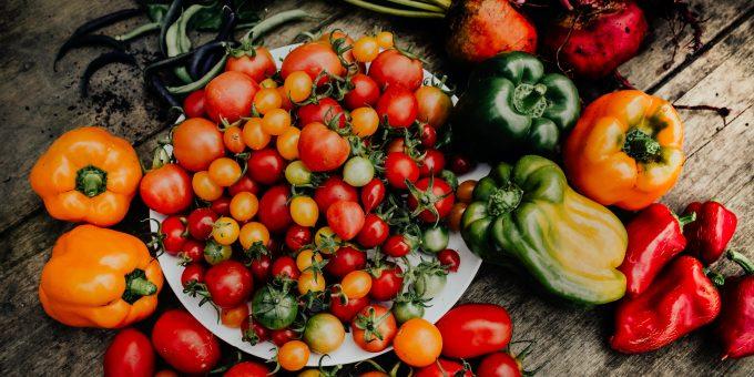 Gemüse: Foodsave-Bankette retten Lebensmittel vor der Biogas-Anlage.