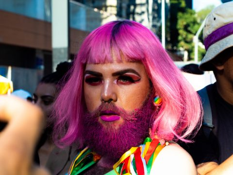 Porträt Transvestit